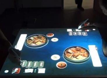 iEat, az interaktív éttermi asztal – A nap videója