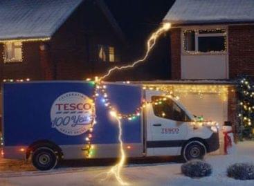 Századik évfordulóját ünnepli karácsonyi reklámjával a Tesco