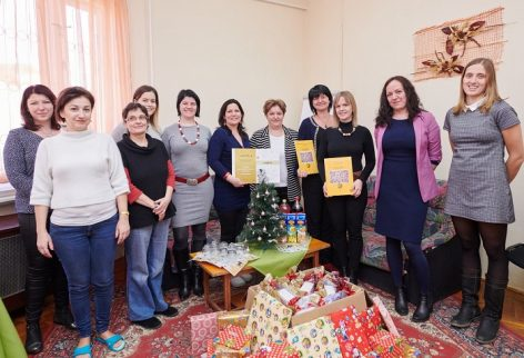 Syngenta's staff donated the children of Mezőtúr