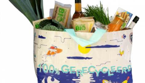 Carrefour Belgium Introduces Bags Made Of Ocean Waste
