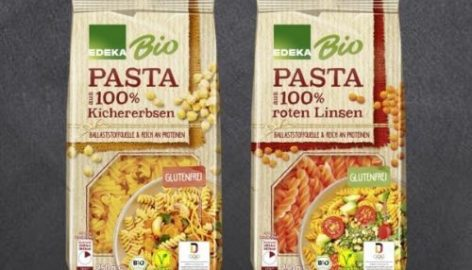 Edeka Launches Own-Brand Pasta Made Of Legumes