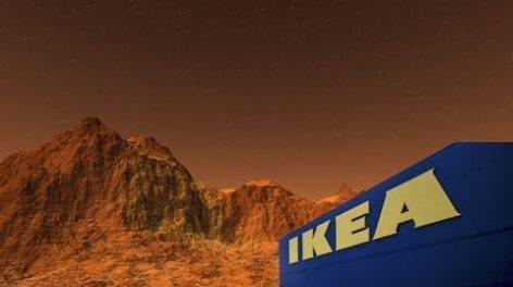 Segít újratervezni a Mars-házakat az Ikea