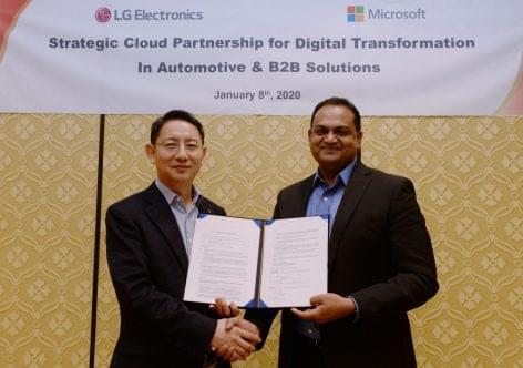 Az LG a Microsofttal közösen fejleszti üzleti megoldásait