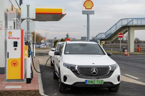SHELL has also taken the first steps in the electric charger market in Central and Eastern Europe