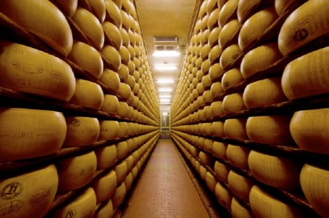 The bank where cheese is accepted as a  collateral