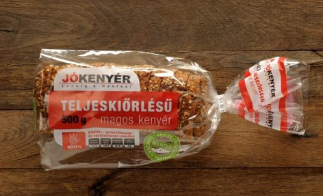 Sales of the Jókenyér brand are growing by four percent each year