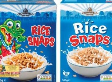 Eltávolítja a rajzfilmszereplőket reggelizőpelyhei csomagolásáról a Lidl Ireland