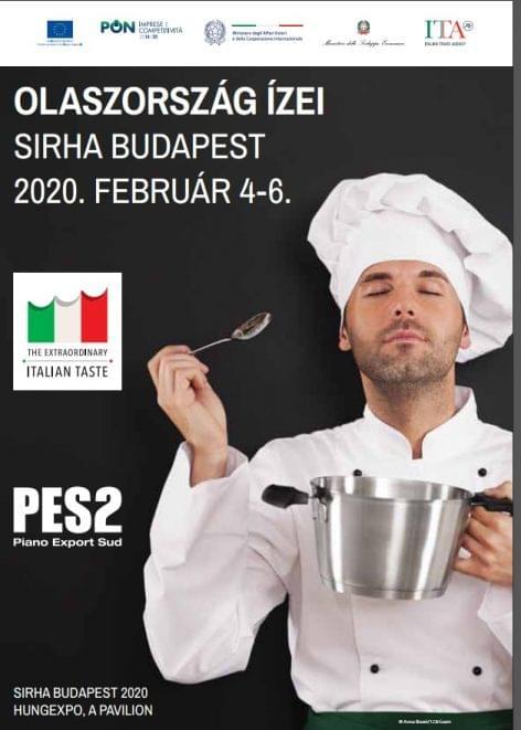 Benvenuti al Sud! Dél-Olaszország ízei a SIRHA Budapest-en