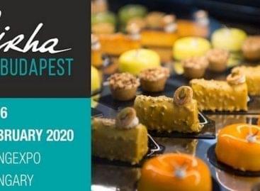 Február 4-6. között rendezik a Sirha Budapest Nemzetközi Élelmiszeripari szakkiállítást