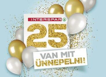 25 éves sikertörténet: negyed évszázados jubileumát ünnepli az INTERSPAR Magyarországon