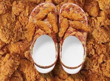KFC csirkés doboz a New Yorki-i divathétre időzítve – A nap képe