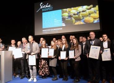 Átadták a Sirha Budapest Innovációs díjakat