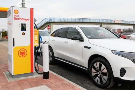 Shell enters the e-mobility sector in Hungary