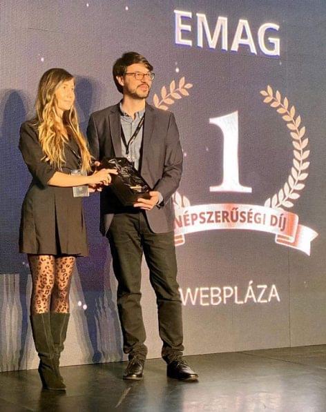 Az eMAG és az Extreme Digital is díjat nyert az Ország Boltja versenyen