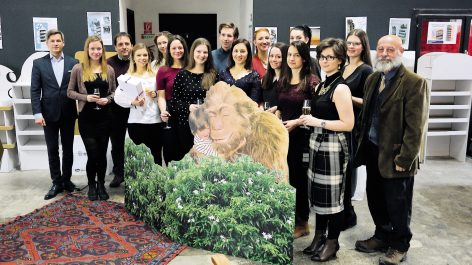 Magazin: Friss, kreatív megoldások a hallgatói display-tervező versenyen