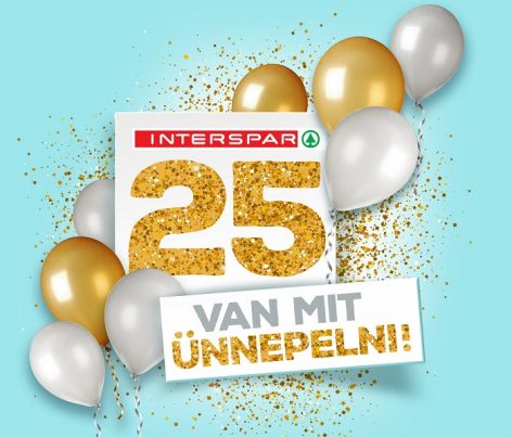 INTERSPAR celebrates 25 years of success in Hungary