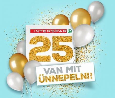 25 éves sikertörténetét ünnepli az INTERSPAR Magyarországon