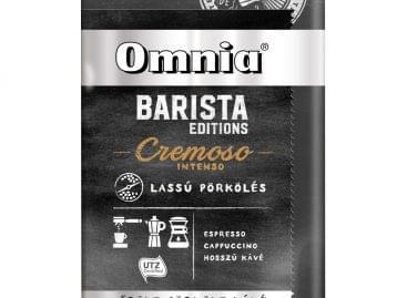 Douwe Egberts Omnia Barista editions új őrölt kávék lassú pörköléssel