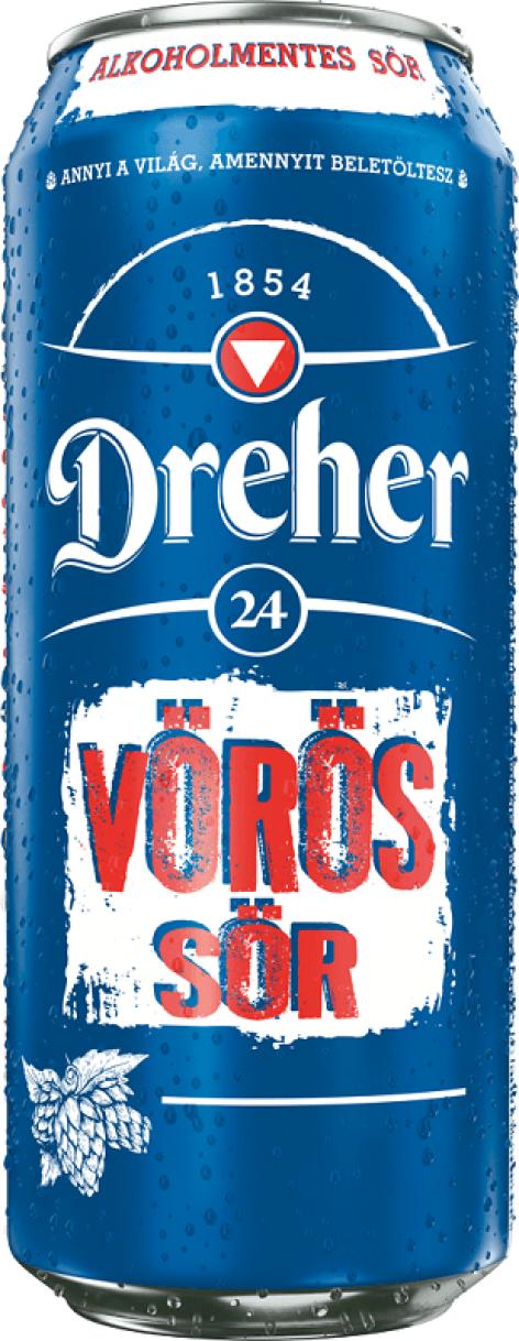 Vörös Sörrel újít a Dreher 24