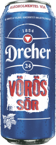 Dreher24-Vörös sör-dobozos