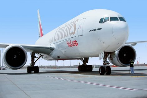 Az Emirates kilenc teherszállító repülőt küld Magyarországra április közepéig