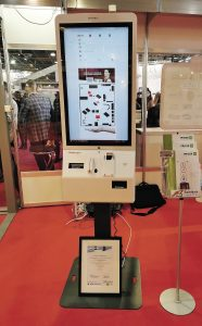 FutureStore-Szintézis Pricer kiosk