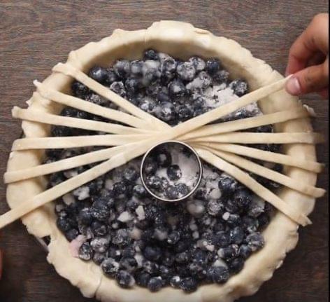 Hogy készítsen geometrikus pitét – A nap videója