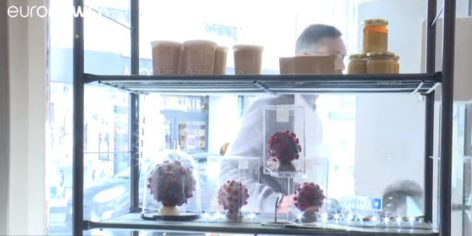 Coronavirus, with French bakery – Video of the day