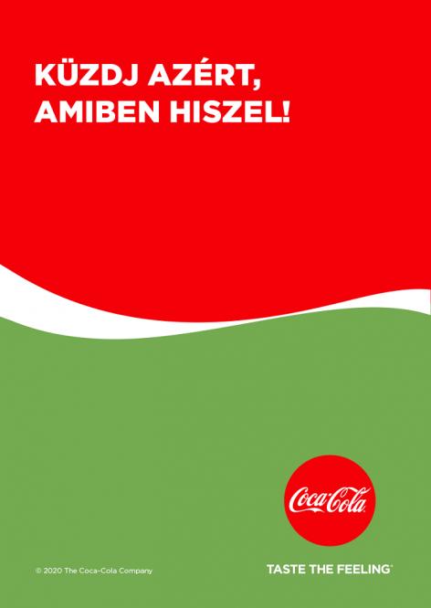 Küzdj azért, amiben hiszel! – üzeni új plakátjain a Coca-Cola