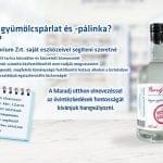 Magas fokú, fertőtlenítésre alkalmas párlatot hoz forgalomba a Panyolai Szilvórium Zrt.