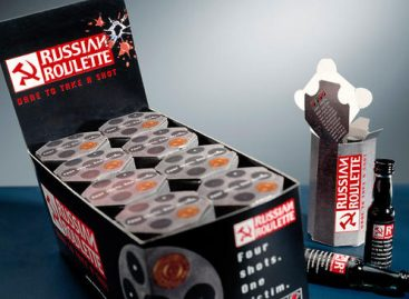 Russian Roulette, a bizarr orosz vodka