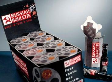 (HU) Russian Roulette, a bizarr orosz vodka