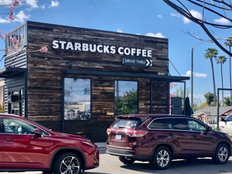 Starbucks adopts drive-thru- and delivery-only model