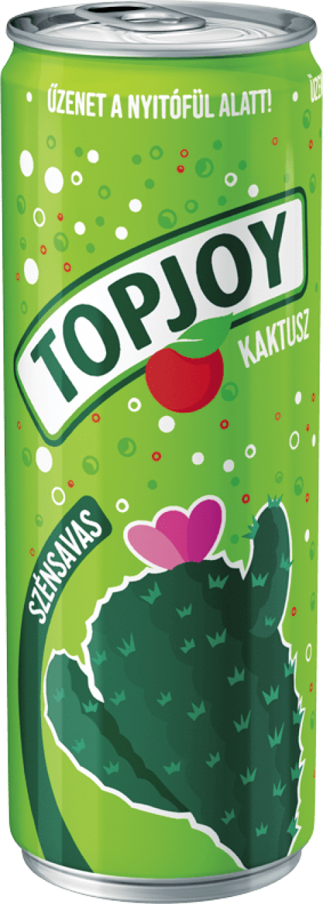 Topjoy soft drinks – carbonated and canned