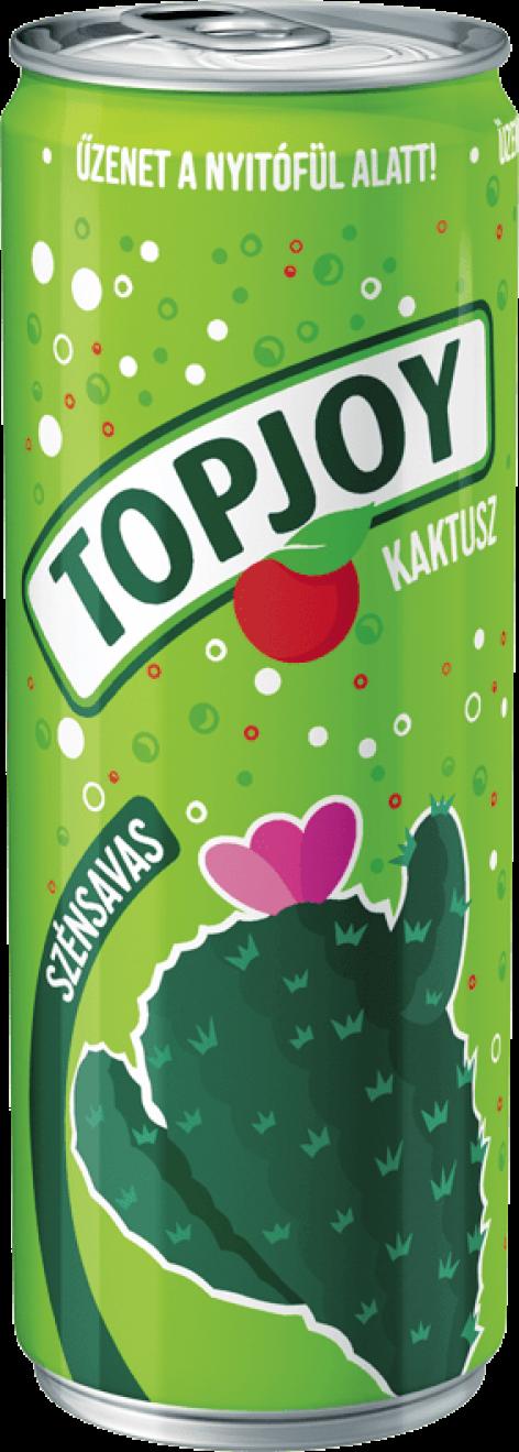 Topjoy szénsavas, fémdobozos üdítő