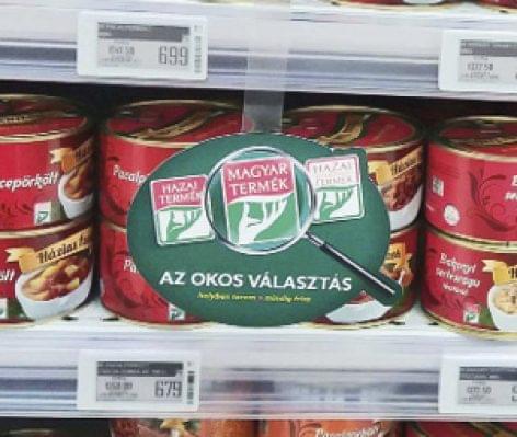 Erősen kezdi az évet az áruházláncokban a Magyar Termék