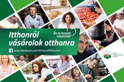 Újabb kampánnyal segíti a hazai élelmiszer-előállítókat a NAK