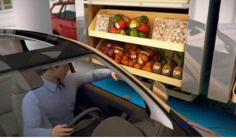 The car-based shopping of the future – Video of the day