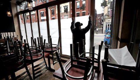 A week after closing all the restaurants in New York – Picture of the day