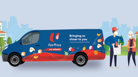 FairPrice launches mobile supermarket in Singapore