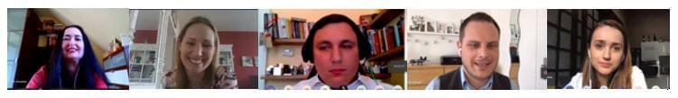 A TMK Piackutatók online konferencia előadói