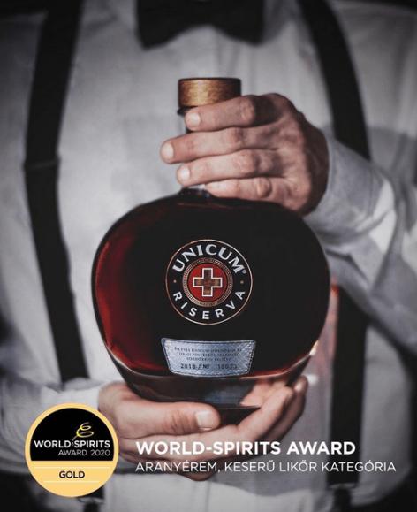 A Zwack sikere a World Spirits Award-on