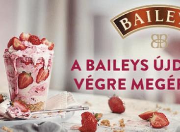 Limitált ideig elérhető a Baileys újdonsága, a Strawberries & Cream