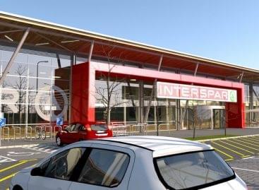Megkezdődött a kaposvári INTERSPAR hipermarket építése