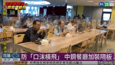 Kínai munkahelyi étkezde vírusidőben – A nap videója
