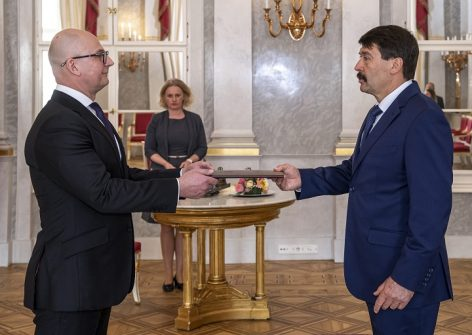 Rigó Csaba Balázs is the President of the Hungarian Competition Authority officially