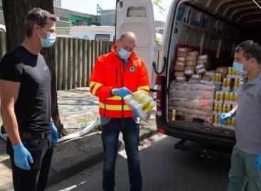 5 millió forint értékű adományt juttatott el a Scitec a frontvonalban lévők megsegítésére