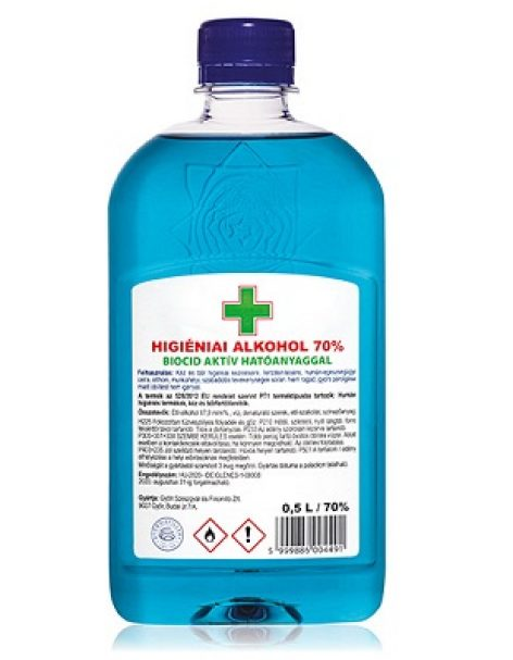 OMV Hungária sells new disinfectants at its filling stations