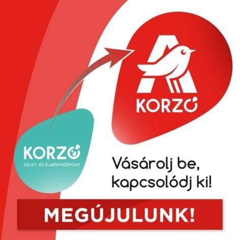 Megújul a Korzó, az Auchan üzletsorok magyarországi márkája