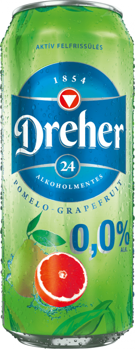 Új ízzel bővül a Dreher 24 alkoholmentes termékcsalád